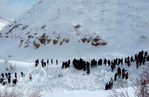 Another Backpack carrier caught in an avalanche in Sardasht, died
