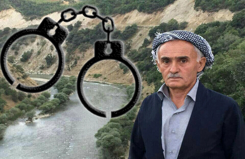 Intelligent service in Sardasht arrested a father of Kurdish political activist