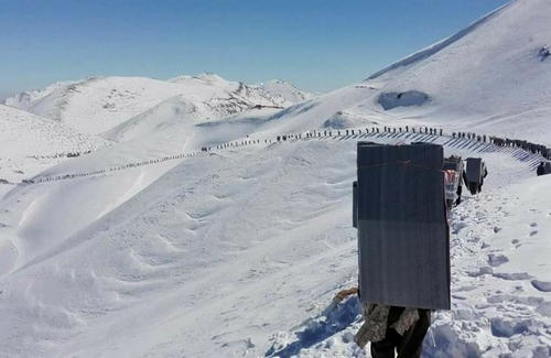 Sardasht: Another Kolbar lost his life due to server weather conditions
