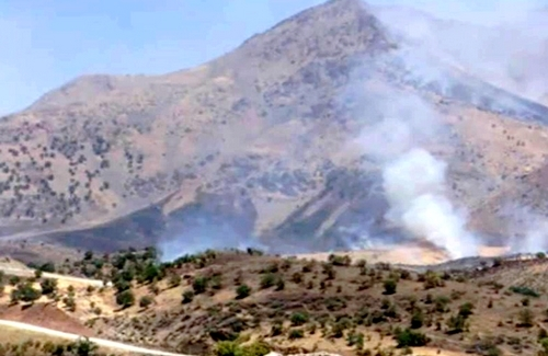 The Iran Revolutionary Guard Corps Shelled the border region of Kurdistan Region