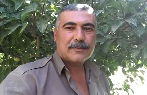 A Kurdish political prisoner sentenced to death is being harassed