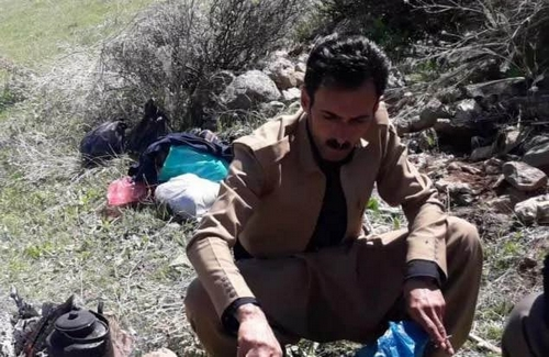 Saqezi Kolbar\'s body was found after a three-month in heights of Baneh\'s border