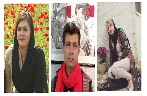 Three protesters to women\'s murder in Marivan were convicted to disrupt public order