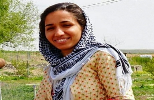 There is no specific reason for making an arrest of Zahra Mohammadi