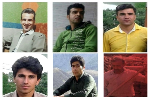 Six Kurdish citizens in the Hawraman district of Sarvabad were sentenced to prison