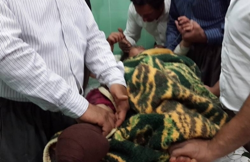 Mariwan / Seven children from the ages of 8 to 10 years old became victim of  bomb explosion