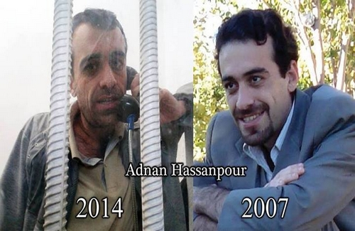 After seven years of Imprisonment, 'Adnan Hassan Pour' is deprived of his Elementary Rights