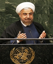 Iran and the West Rohani's outstretched hand