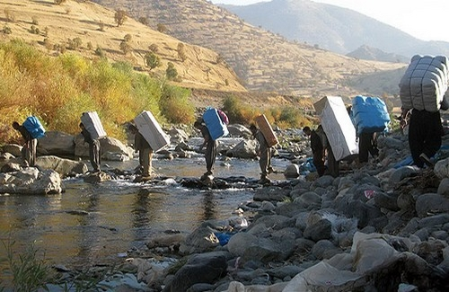 A Kurdish backpack carrier was drown in the river within Kermanshah province border region
