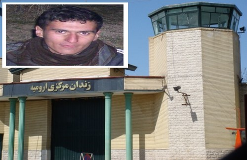 Habibollah Golparipour, a Kurdish political prisoner, transferred to the solitary confinement of Oroumiyeh prison, after beating and disrespecting