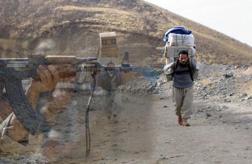 Indiscriminate Attack on Kurdish Cross-border Couriers Injures One