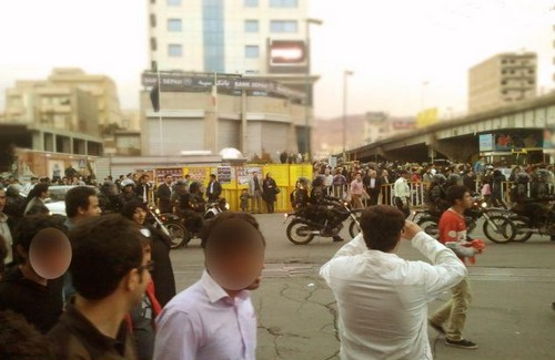 Orumieh city is under curfew, following protests to save Lake Orumieh