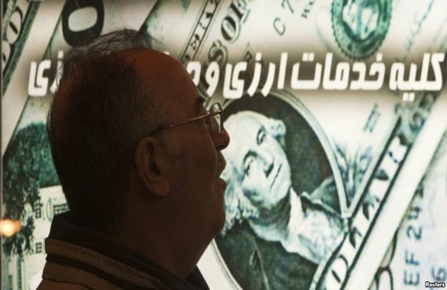 Iranian currency continues slide in value