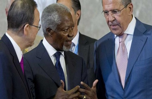 World Powers Agree on Syria Transition
